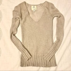 Aerie Long Sleeve Knit Sweater